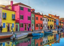 Colorful Venice Seascape / Coastal Living Jigsaw Puzzle