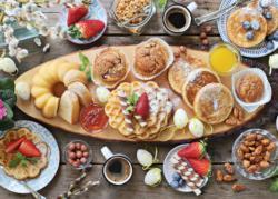 Beautiful Breakfast Sweets Jigsaw Puzzle