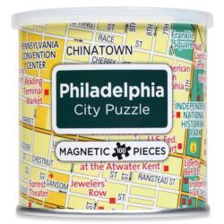 City Magnetic Puzzle Philadelphia Cities Magnetic Puzzle