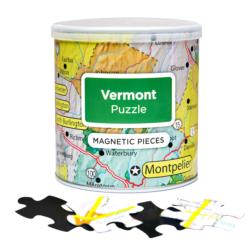 City Magnetic Puzzle Vermont Cities Magnetic Puzzle