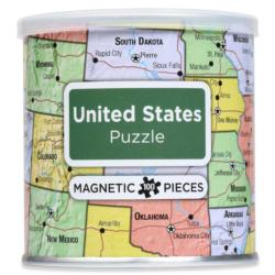 United States Puzzle Maps / Geography Magnetic Puzzle