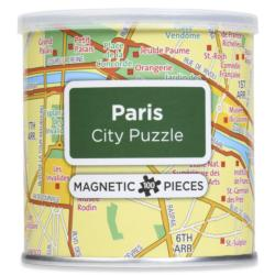 City Magnetic Puzzle Paris Paris Magnetic Puzzle