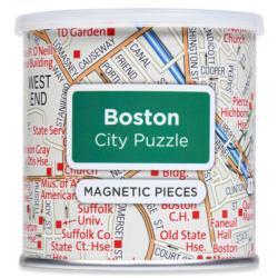 City Magnetic Puzzle Boston Boston Magnetic Puzzle