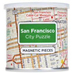City Magnetic Puzzle San Francisco Cities Magnetic Puzzle