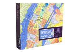 New York MetroPuzzle Cities Jigsaw Puzzle