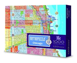 Chicago MetroPuzzle Cities Jigsaw Puzzle