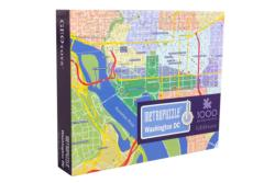 Washington, DC MetroPuzzle Cities Jigsaw Puzzle