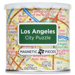 City Magnetic Puzzle Los Angeles Cities Magnetic Puzzle