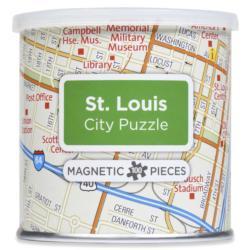 City Magnetic Puzzle St. Louis St. Louis Magnetic Puzzle