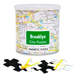 City Magnetic Puzzle Brooklyn Cities Magnetic Puzzle