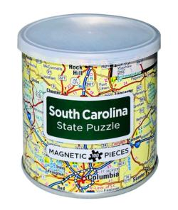 City Magnetic Puzzle South Carolina Cities Magnetic Puzzle
