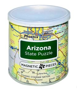 City Magnetic Puzzle Arizona Cities Magnetic Puzzle