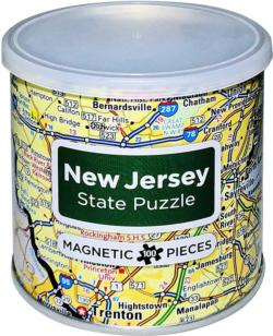 City Magnetic Puzzle New Jersey Cities Magnetic Puzzle
