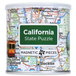 City Magnetic Puzzle California Cities Magnetic Puzzle
