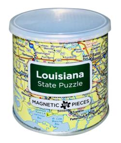 City Magnetic Puzzle Louisiana - Scratch and Dent Cities Magnetic Puzzle