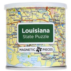 City Magnetic Puzzle Louisiana Cities Magnetic Puzzle