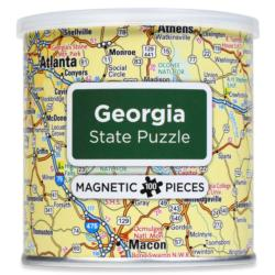 City Magnetic Puzzle Georgia Cities Magnetic Puzzle