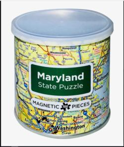 City Magnetic Puzzle Maryland Cities Magnetic Puzzle