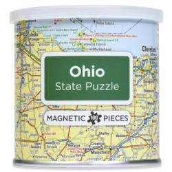 Magnetic Puzzle Ohio Maps / Geography Magnetic Puzzle