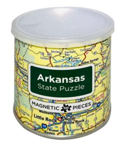 City Magnetic Puzzle Arkansas Cities Magnetic Puzzle