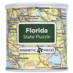 Magnetic Puzzle Florida Maps / Geography Magnetic Puzzle