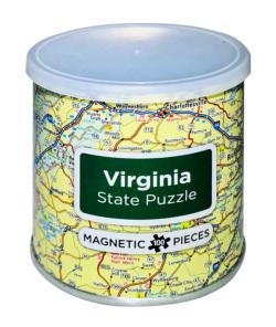 City Magnetic Puzzle Virginia Cities Magnetic Puzzle