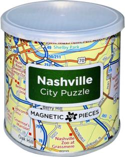City Magnetic Puzzle Nashville Cities Magnetic Puzzle