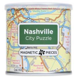 City Magnetic Puzzle Nashville Cities Magnetic Puzzle