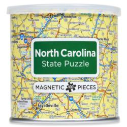 Magnetic Puzzle North Carolina Maps / Geography Magnetic Puzzle