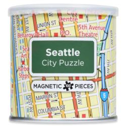 City Magnetic Puzzle Seattle Cities Magnetic Puzzle