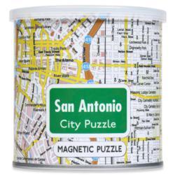 City Magnetic Puzzle San Antonio Cities Magnetic Puzzle
