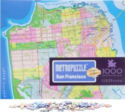 San Francisco MetroPuzzle™ Cities Jigsaw Puzzle