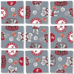 University of Alabama Sports Non-Interlocking Puzzle