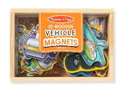 Wooden Vehicle Magnets Vehicles Toy
