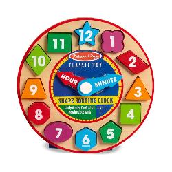 Shape Sorting Clock Pi Day