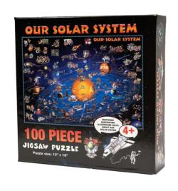 Our Solar System Space Jigsaw Puzzle