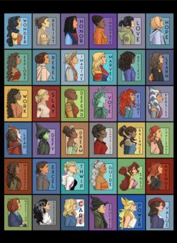 She Series: Pop Culture Edition Movies / Books / TV Jigsaw Puzzle