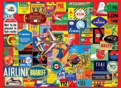 Now Boarding Nostalgic / Retro Jigsaw Puzzle