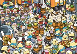 Dimsum Factory Asia Jigsaw Puzzle