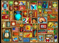Odds and Ends Pattern / Assortment Jigsaw Puzzle