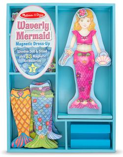 Waverly Mermaid Magnetic Dress-Up Pretend Play Toy