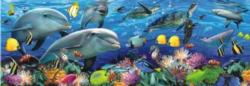 Undersea Dolphins Jigsaw Puzzle