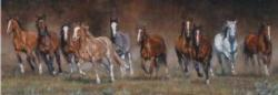 Free Time Horses Jigsaw Puzzle