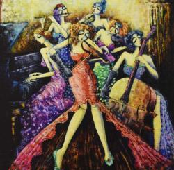 Ladies Orchestra Music Jigsaw Puzzle
