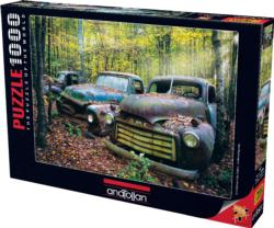Remaining of the Past Vehicles Jigsaw Puzzle