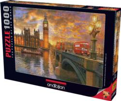 Westminster Sunset Lakes / Rivers / Streams Jigsaw Puzzle