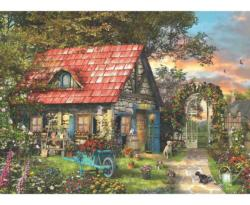 Country Shed Cottage / Cabin Jigsaw Puzzle