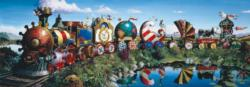 Story Train Trains Panoramic Puzzle