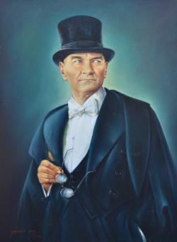 Mustafa Kemal Ataturk People Jigsaw Puzzle