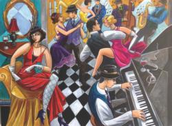 Speakeasy Music Jigsaw Puzzle